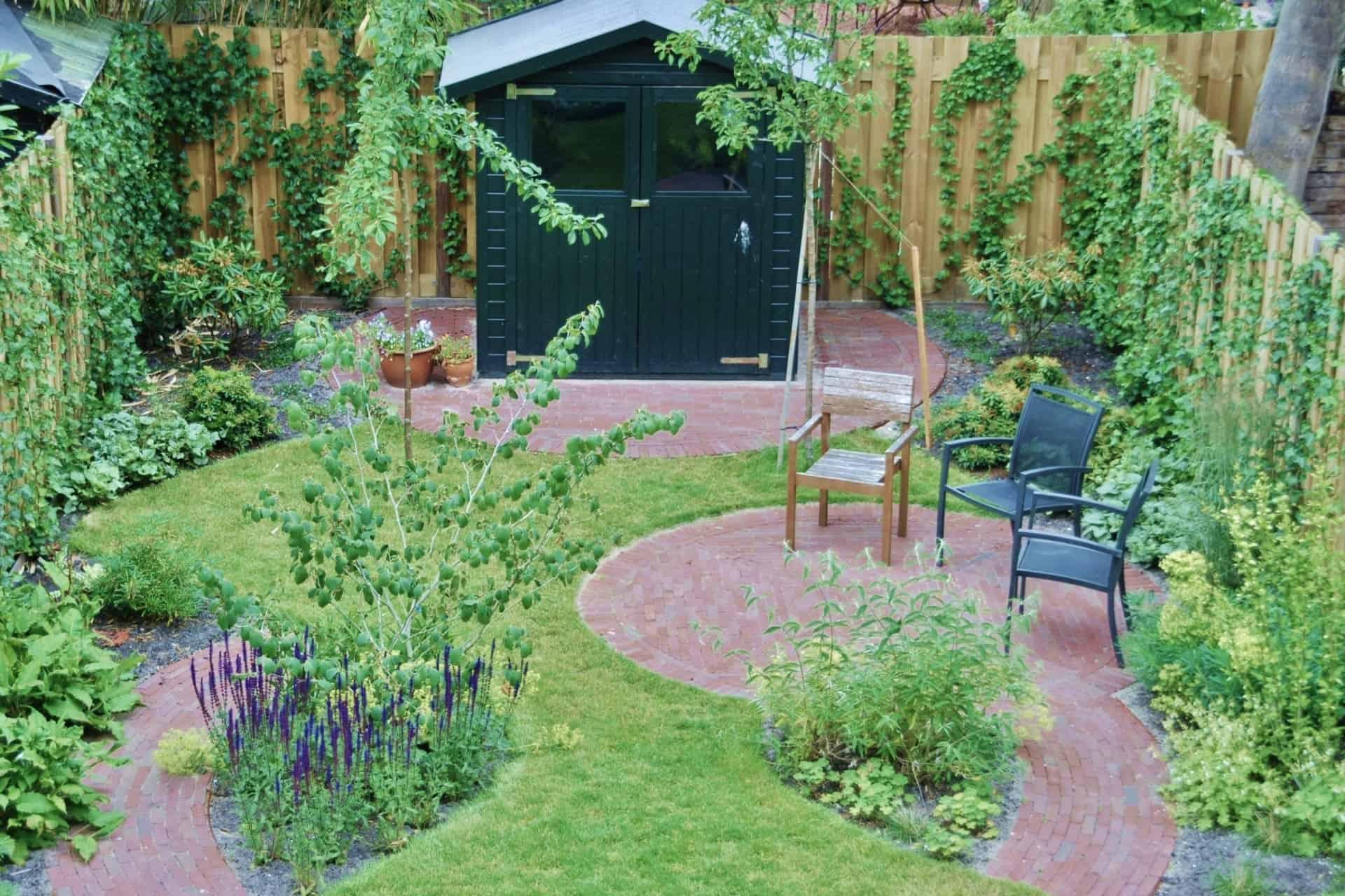 Populair Leef-tuin met ronde lijnen… - Kanna Kraus #UZ64